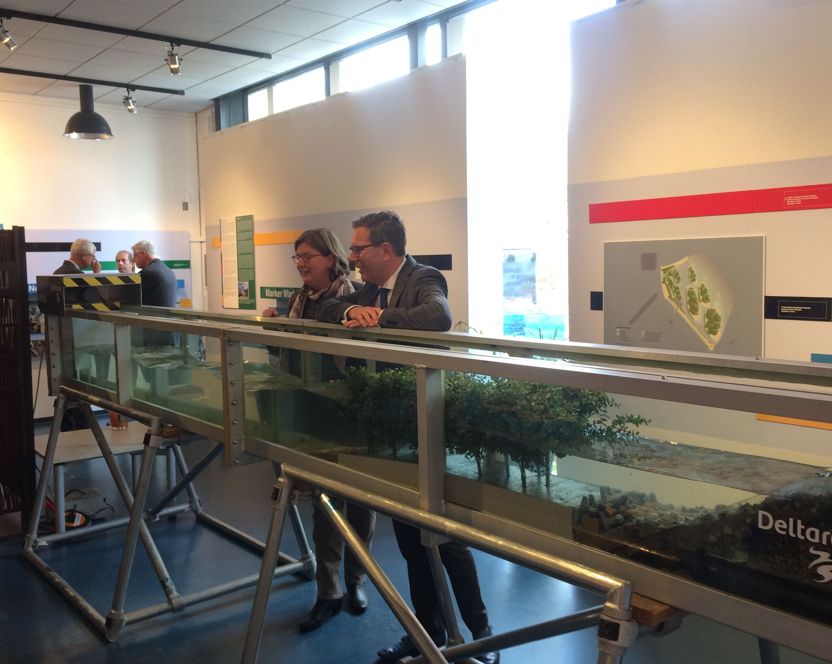 Building with Nature exhibition in National Dredging Museum Sliedrecht 2