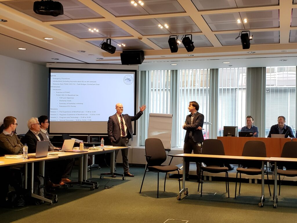 Report workshop PIANC EnviCom Working Group 214 in January 2