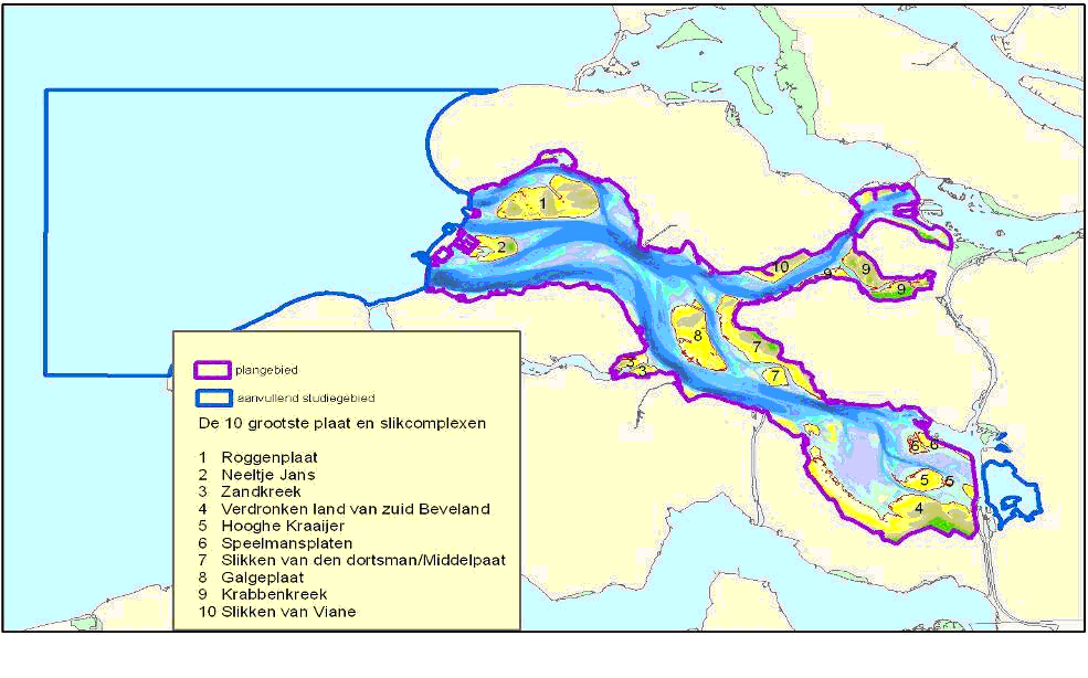 Nature index Scheldt estuary