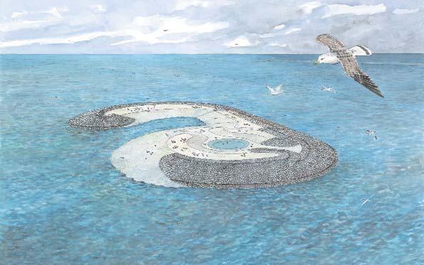 Design of the Bird island